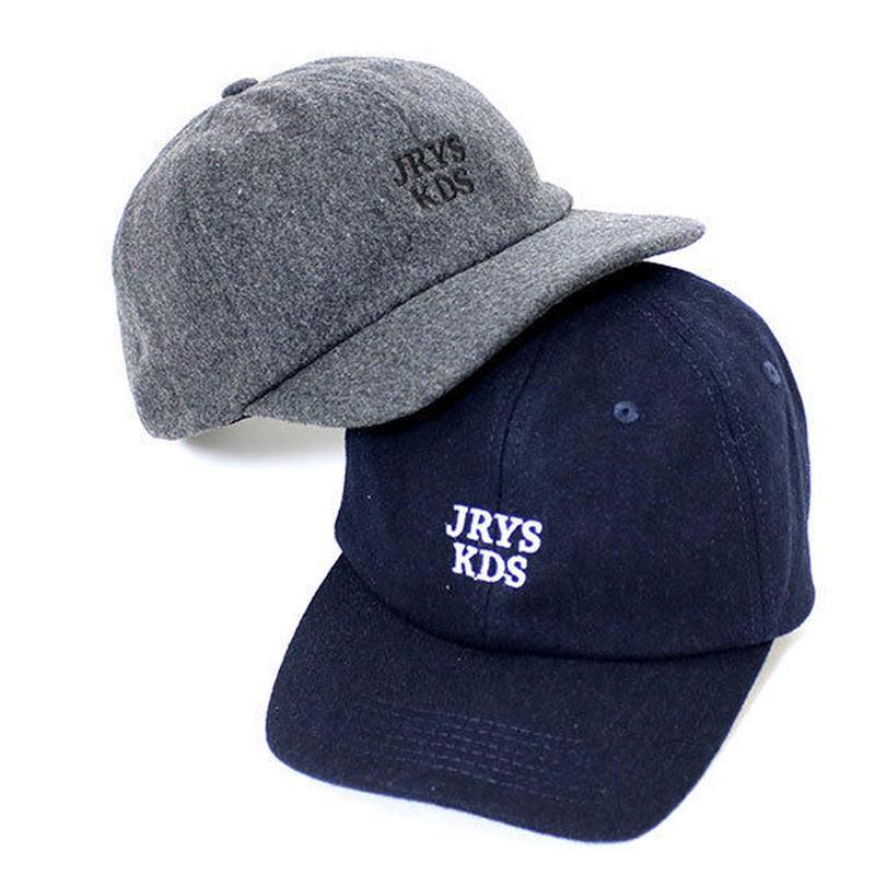 """WOOL BASEBALL CAP """"JRYS KDS"""""""