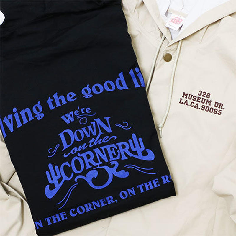 "HOODED COACH JACKET ""GOOD LIFE"""