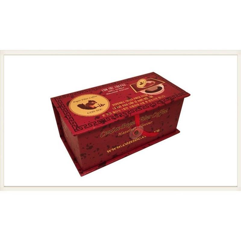 CONSOC COFFEE Paper Filter Arabica100% ヘーゼルナッツ Coffee 10袋入り