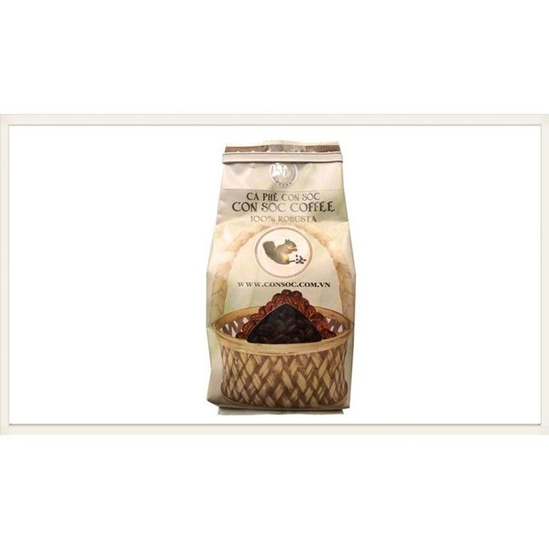 CONSOC COFFEE Whole Bean ロブスタ種100% 200g