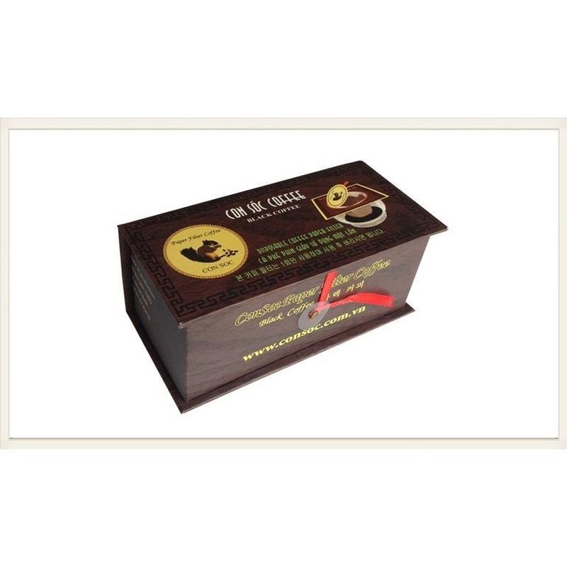 CONSOC COFFEE Paper Filter Black Coffee 10袋入り
