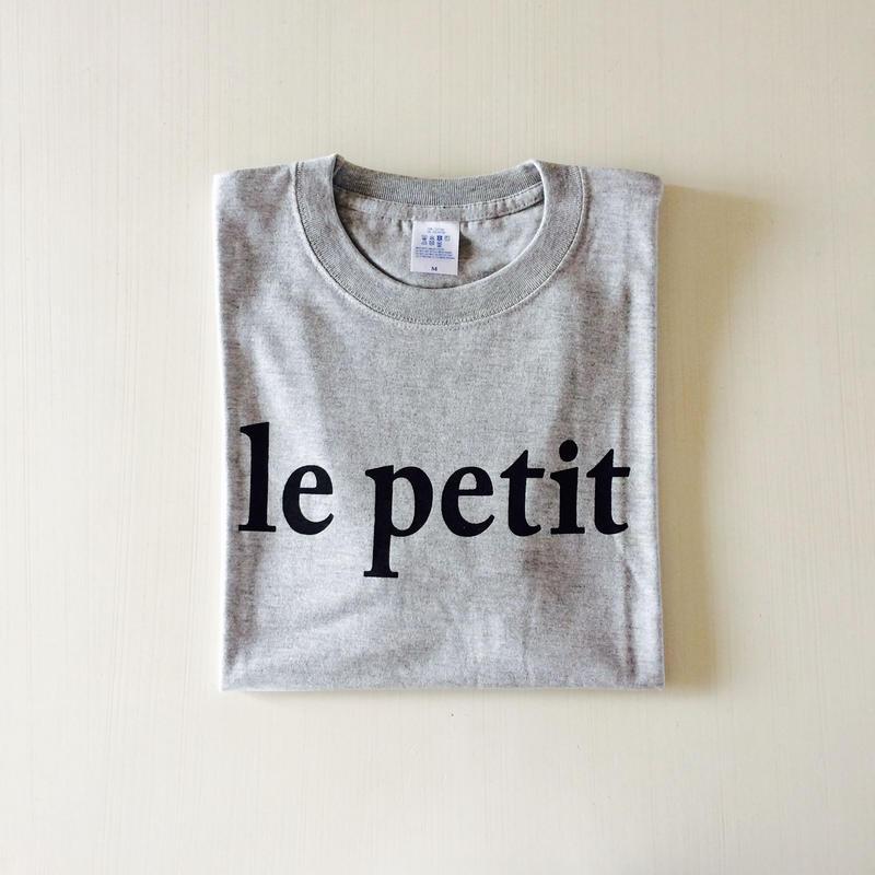 le petit T-shirt unisex 【BLACK】