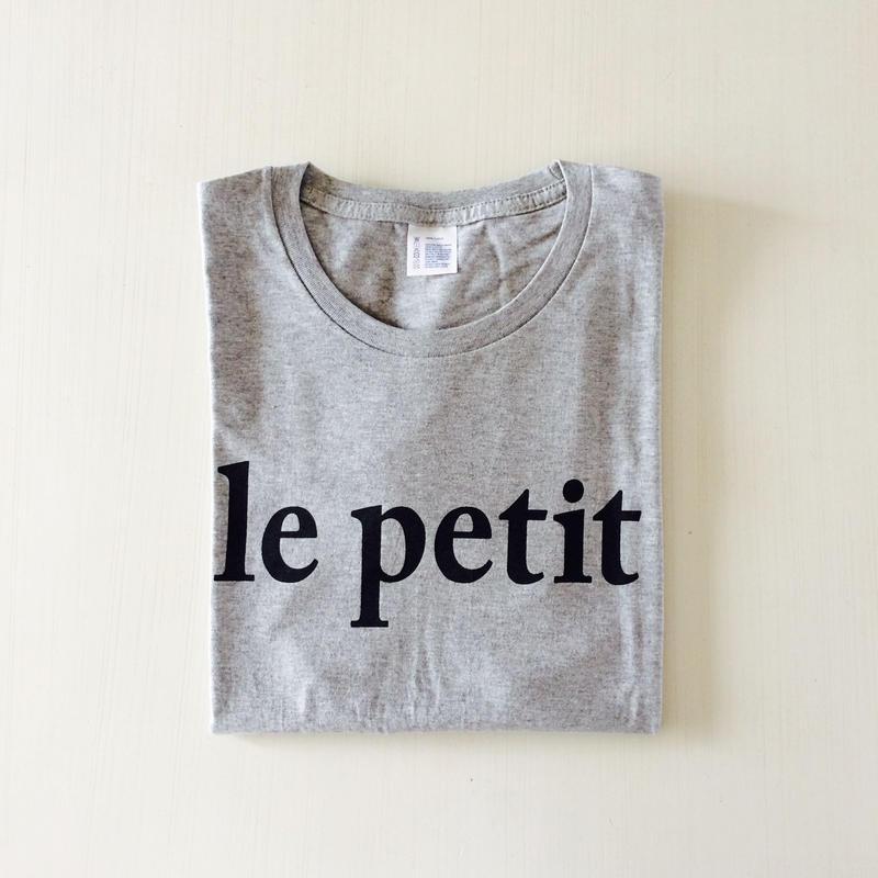 le petit  T-shirt  レディース【BLACK】