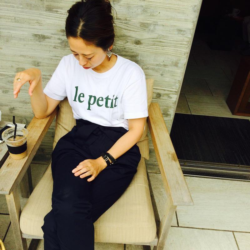 le petit T-shirt unisex 【GREEN】