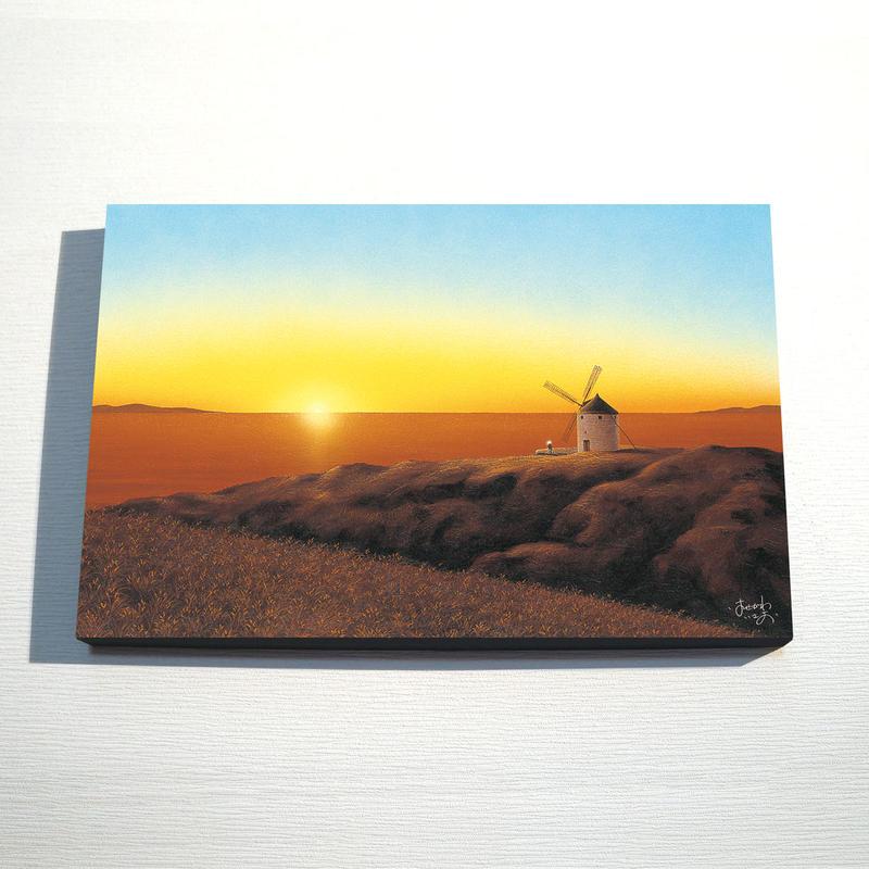 【デジタル版画/B3キャンバス】「希望の風」