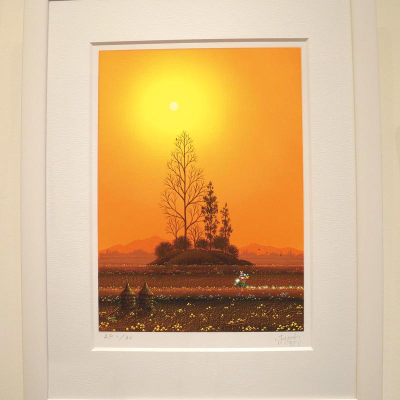 【ジークレー版画】「野の花」