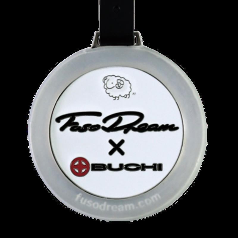 FUSO DREAM ×BUCHI パターキャッチャー&ネームプレート(白)