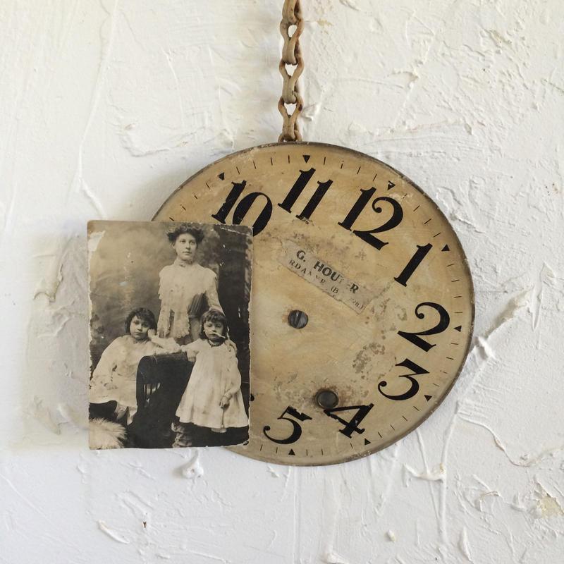 古時計の文字盤