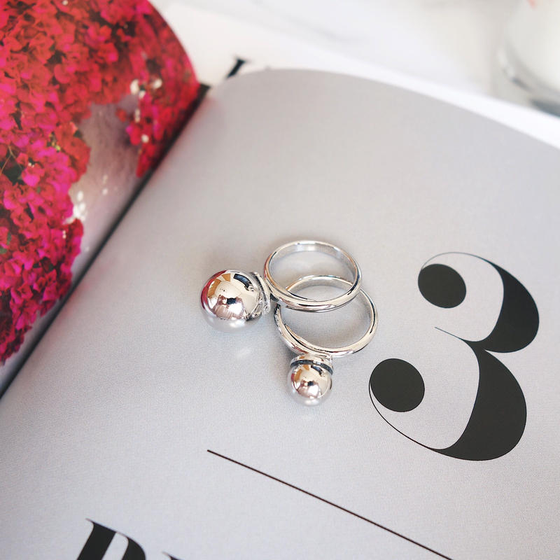 metal ball ring