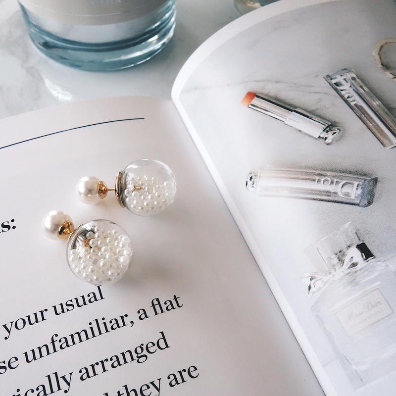 glass dome pearl pierce