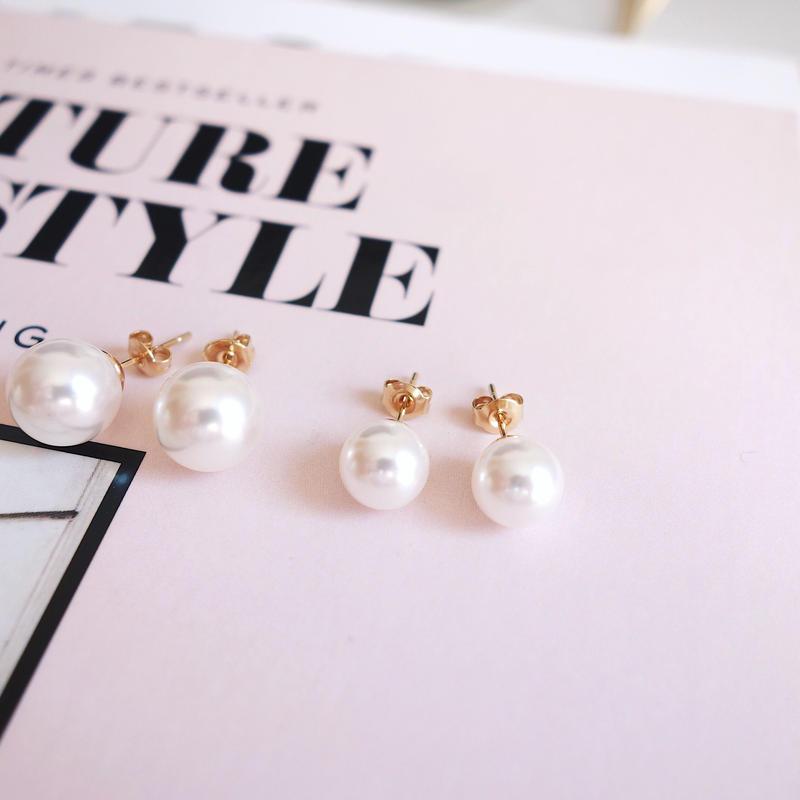 formal pearl pierce,earring