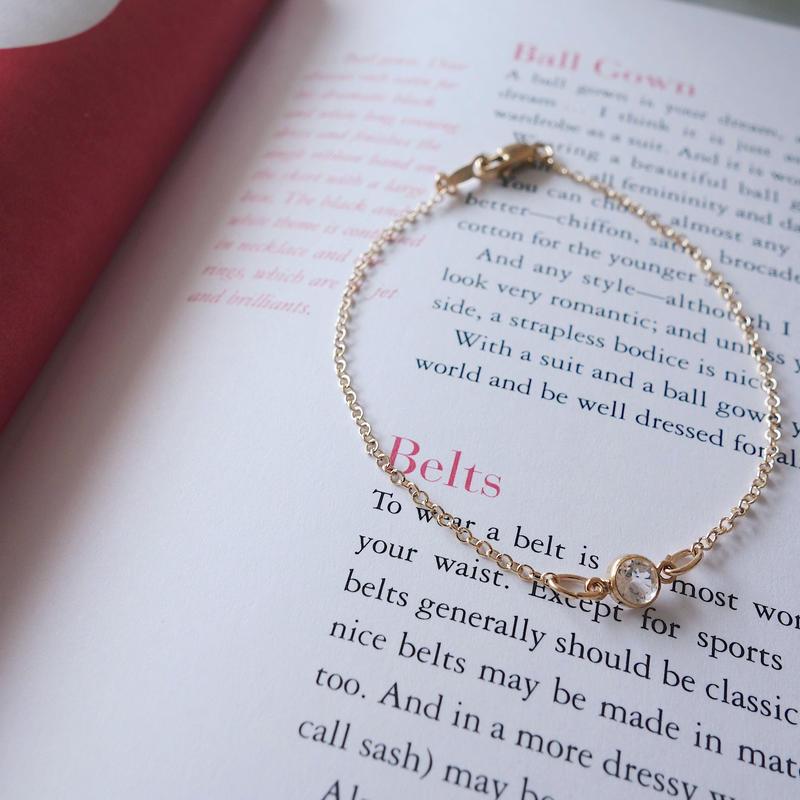 【14kgf】 simple bracelet