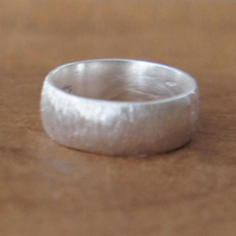 スクラッチリング【M】silver