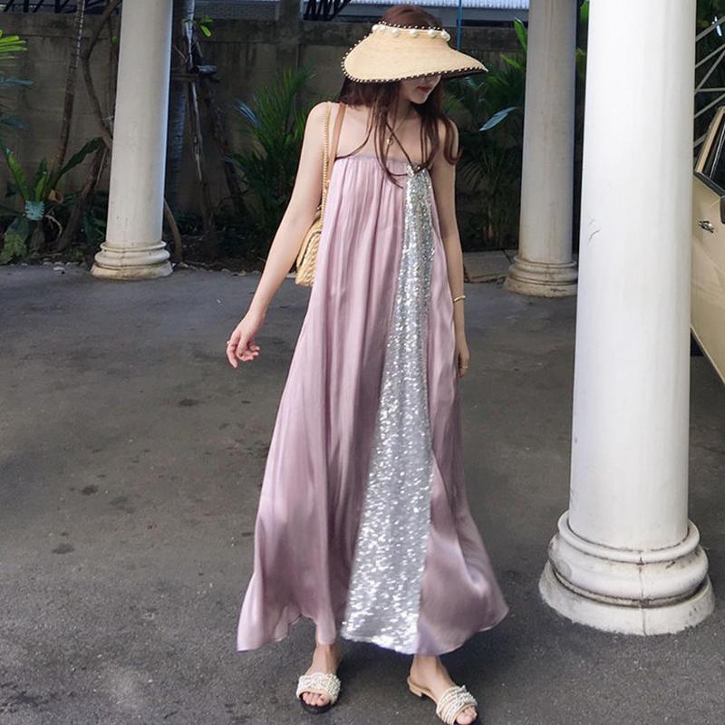 Holiday Purple Tube Dress