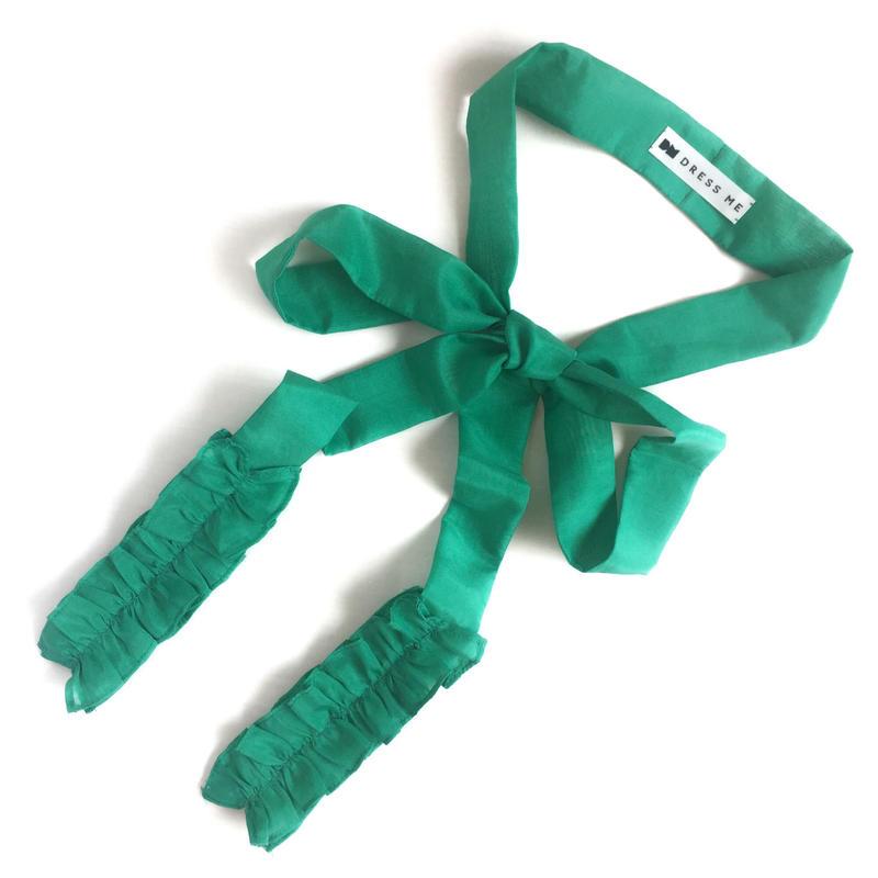 アクセサリー RIBBON TIE(green)