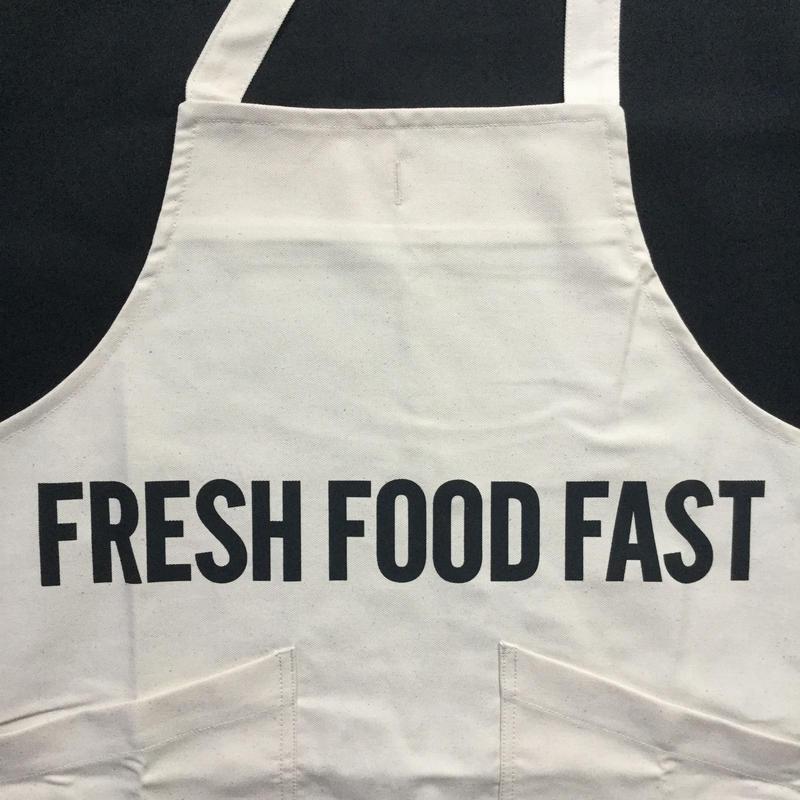 "⭕️[新発売] DRESSSEN  XA10 X–STYLE APRON "" FRESH FOOD FAST""※公式オンラインストアのみの販売です。"