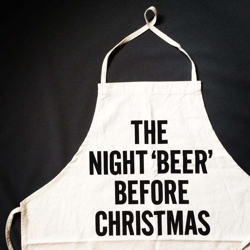 DRESSSEN ADULTAPRON #40  THE NIGHT 'BEER' BEFORE CHRISTMAS