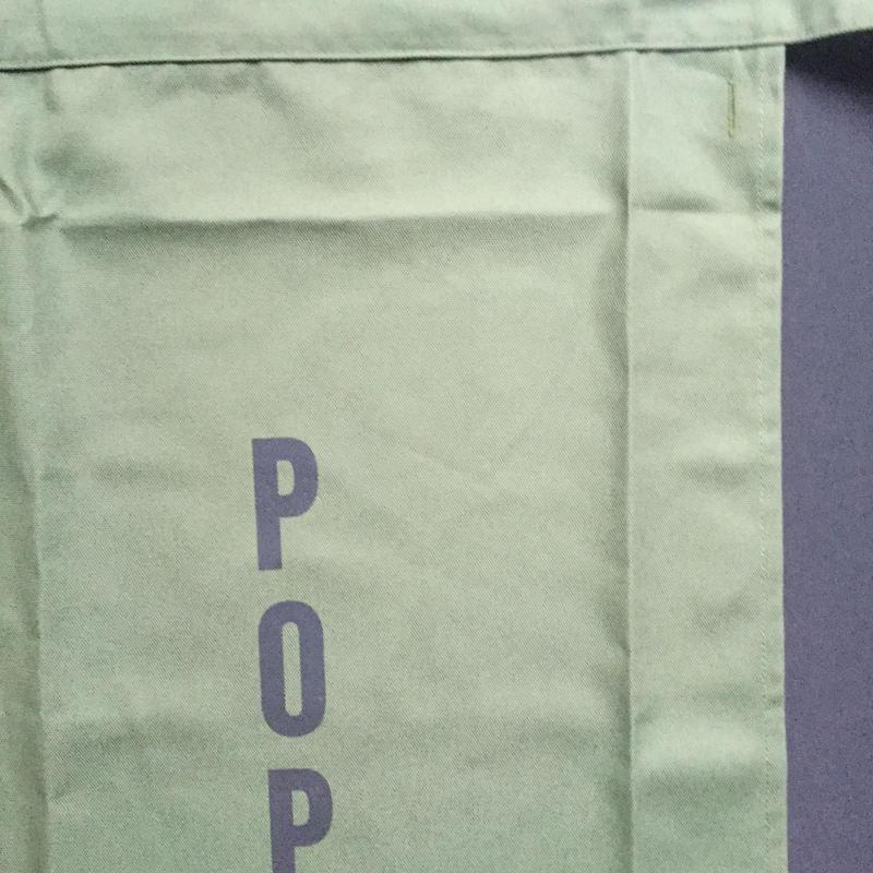 "DRESSSEN  lower wall long LWL(G)3 ""POP""APRON GREENCOLOR ⭕️こちらの商品はオンラインストア限定発売です。"