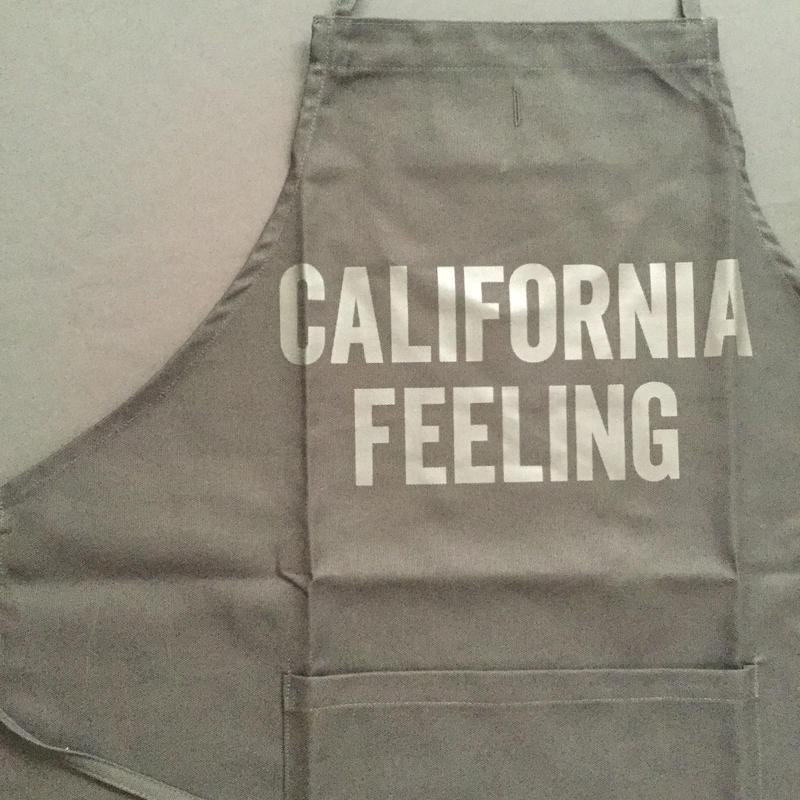 """[新色] DRESSSEN ADULT APRON     DB(BLK)1  """"CALIFORNIA FEELING"""" BLACK COLOR"""