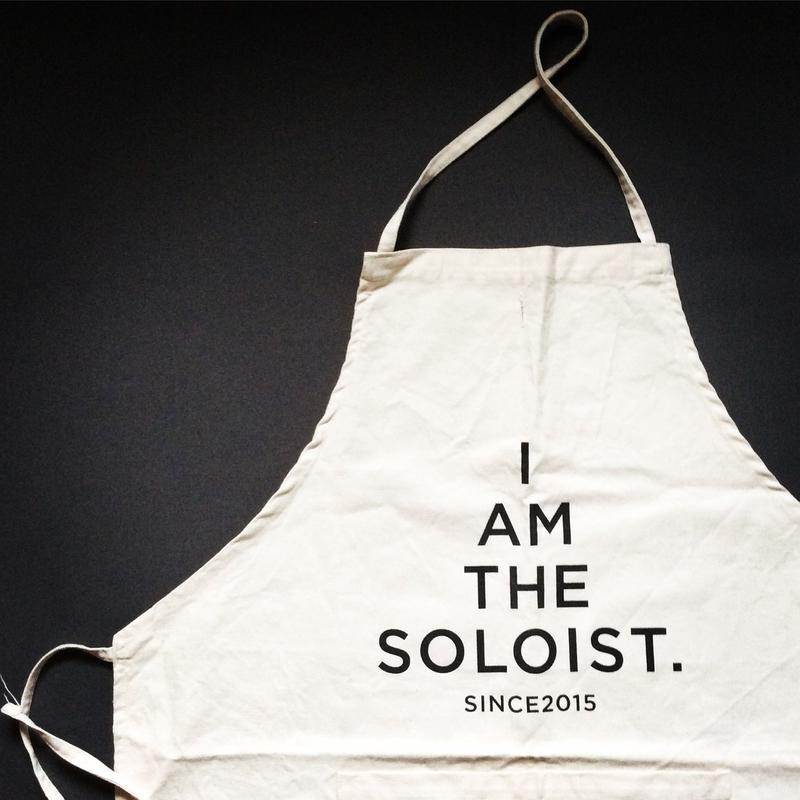 TAKAHIROMIYASHITATheSoloist.×DRESSSEN I AM THE SOLOIST APRON