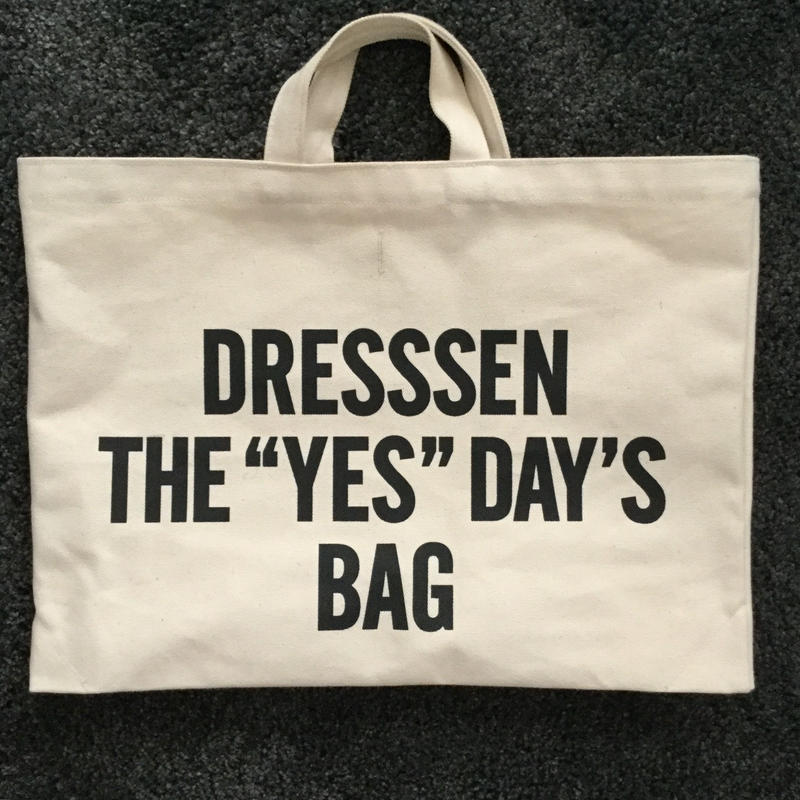 "DRESSSEN DTB1 DRESSSEN THE ""YES""DAY'S BAG  ⭐️2月8日(金曜日)再入荷しました。"