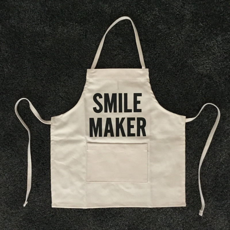DRESSSEN BKD BABY KIDS APRON  SMILE MAKER(ベイビーキッズエプロンです。)🔴再入荷しました。