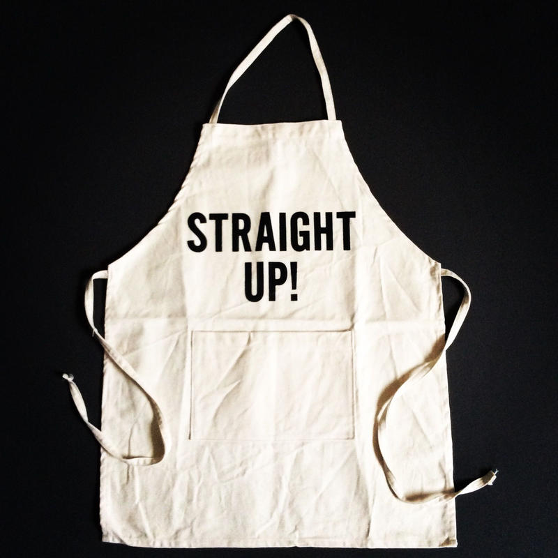 "DRESSSEN KD11 KIDS APRON  ""STRAIGHT UP""(※キッズエプロンです)"