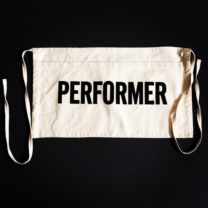 "DRESSSEN LW5 LOWER WALL APRON  ""PERFORMER""(腰巻きエプロンです)"