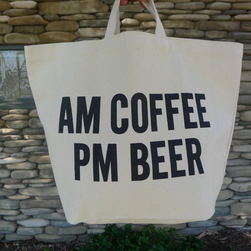"⭕️[新発売]DRESSSENTOTE BAG  DTB4 ""AM COFFEE PM BEER""⭕️2019年5月新発売です"
