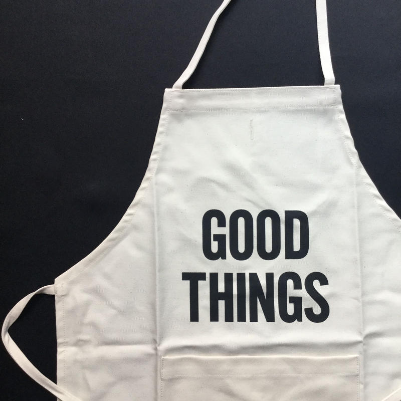 "DRESSSEN KD 18  KIDS APRON ""GOOD THINGS""※キッズエプロンです"