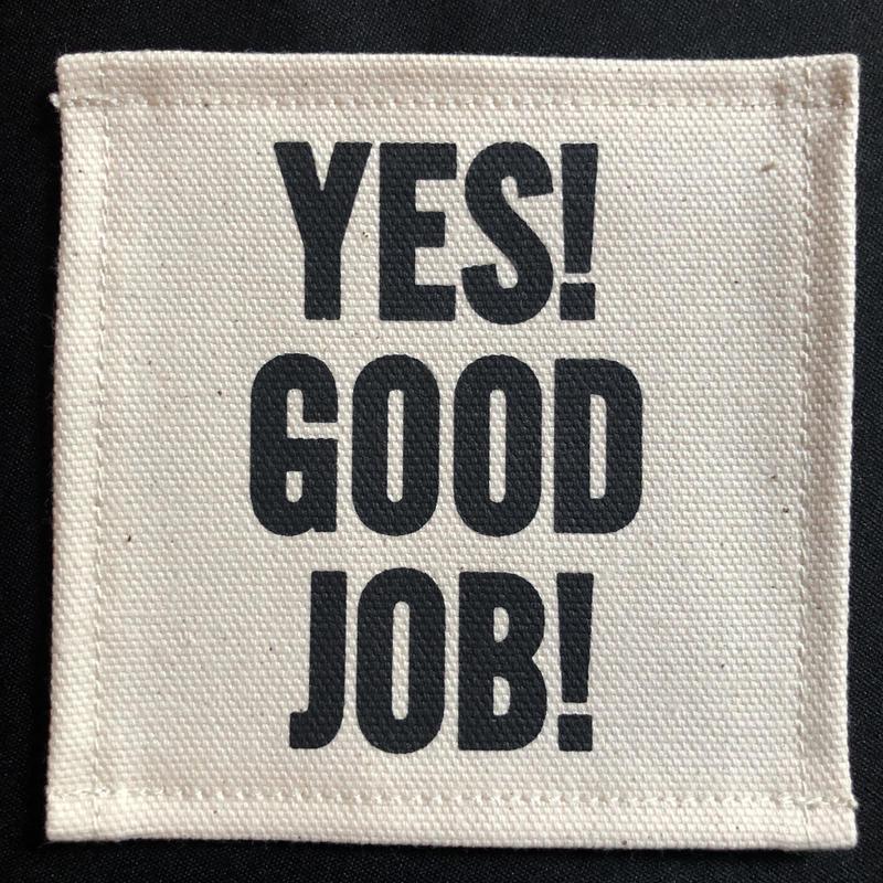 """🔴新発売 DRESSSEN  COA2  COASTER DAY GOODS  """"YES! GOOD JOB!"""" ※こちらは5枚セットの販売です。"""