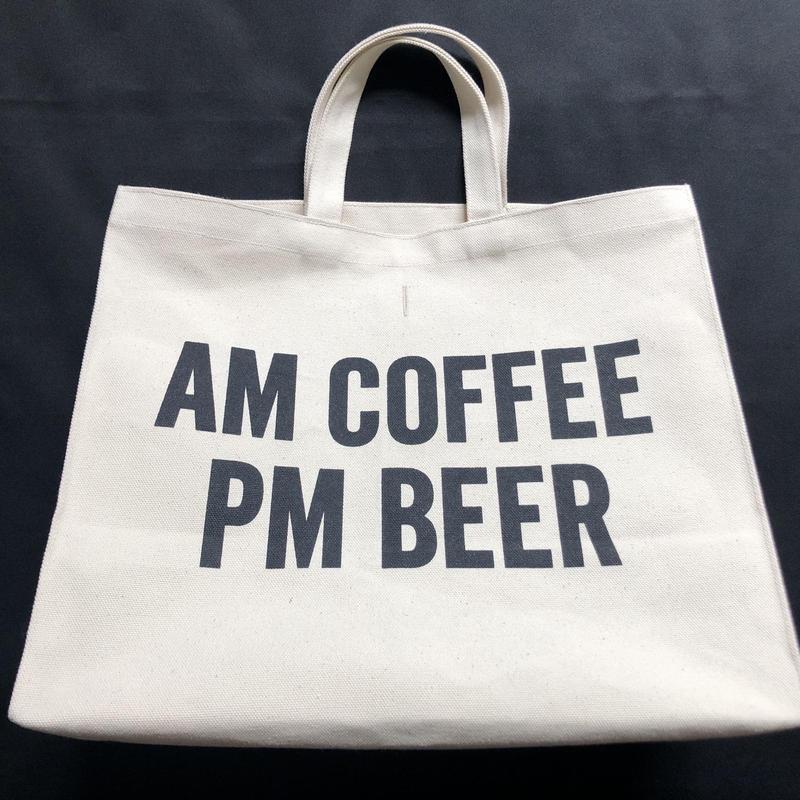 🔴新発売  DRESSSEN  MARKET BAG (LARGE)  MBAL4  AM COFFEE PM BEER