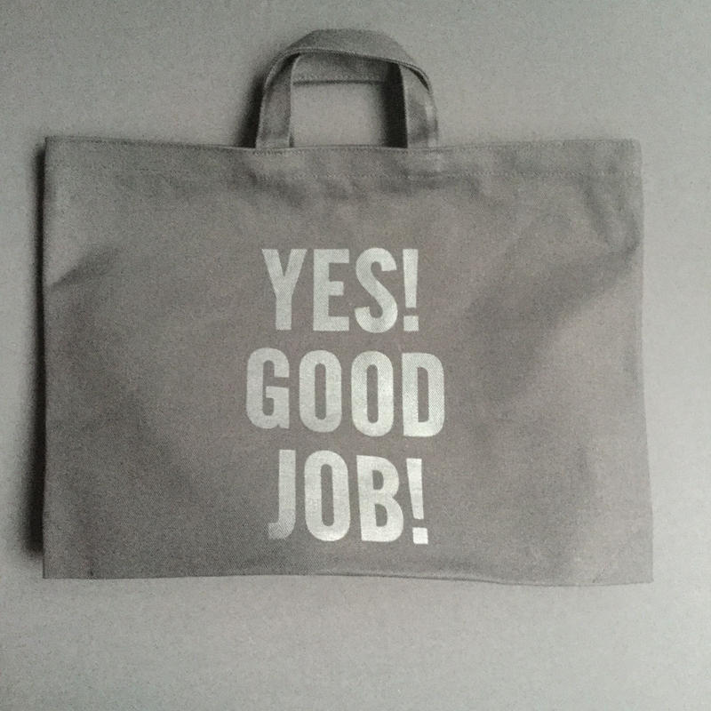 "⭕️[新発売] DRESSSEN TOTE BAG DTBCB3 ""YES! GOOD JOB!※次回入荷未定です。よろしくお願い申し上げます。"