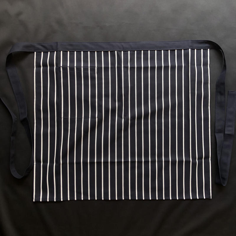 "⭕️新発売 ! DRESSSEN LWLS1 LOWER WALL ""STRIPE"" APRON    NAVY COLOR"
