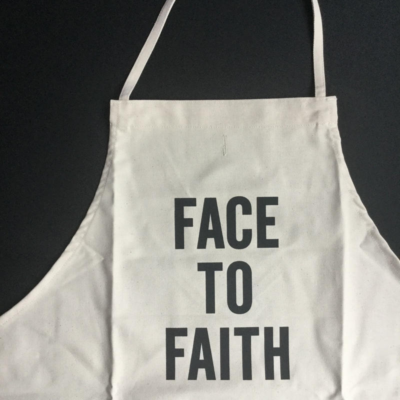 ⭕️[新発売]DRESSSEN ADULT APRON  #79 FACE TO FAITH