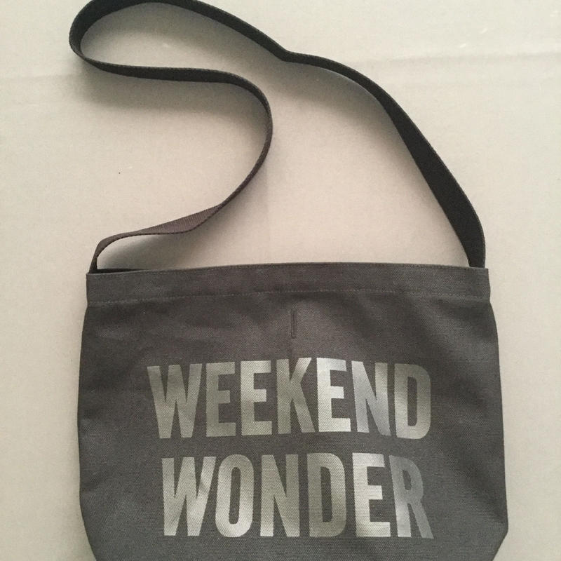 "DRESSSEN  SHOULDER BAG DBC5""WEEKEND WONDER"" BLACK COLOR"