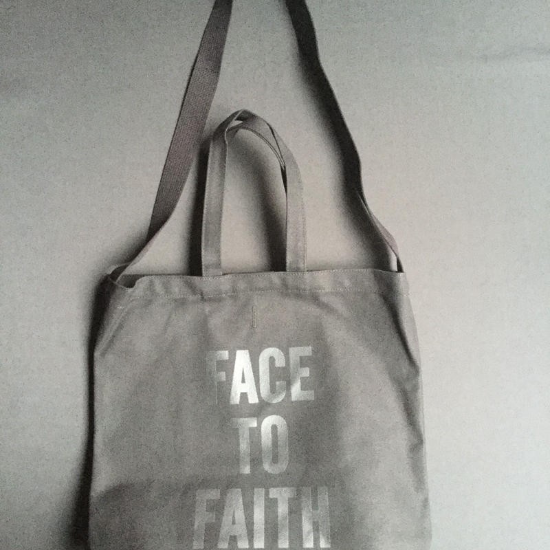 "⭕️[新発売]DRESSSEN  TWO WAY BAG DBSHC7 ""FACE TO FAITH"" ""BLACK COLOR  ※公式オンラインストア限定販売です。"