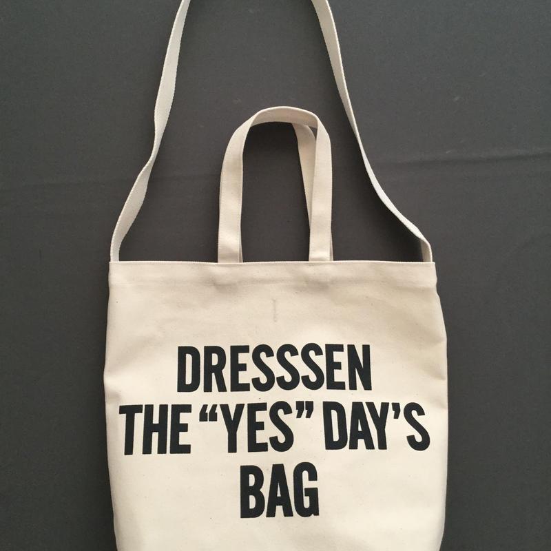 "DRESSSEN  DBSH4  TWO WAY BAG"" DRESSSEN THE""YES""DAYS BAG⭕️一点入荷しました。よろしくお願い申し上げます。"