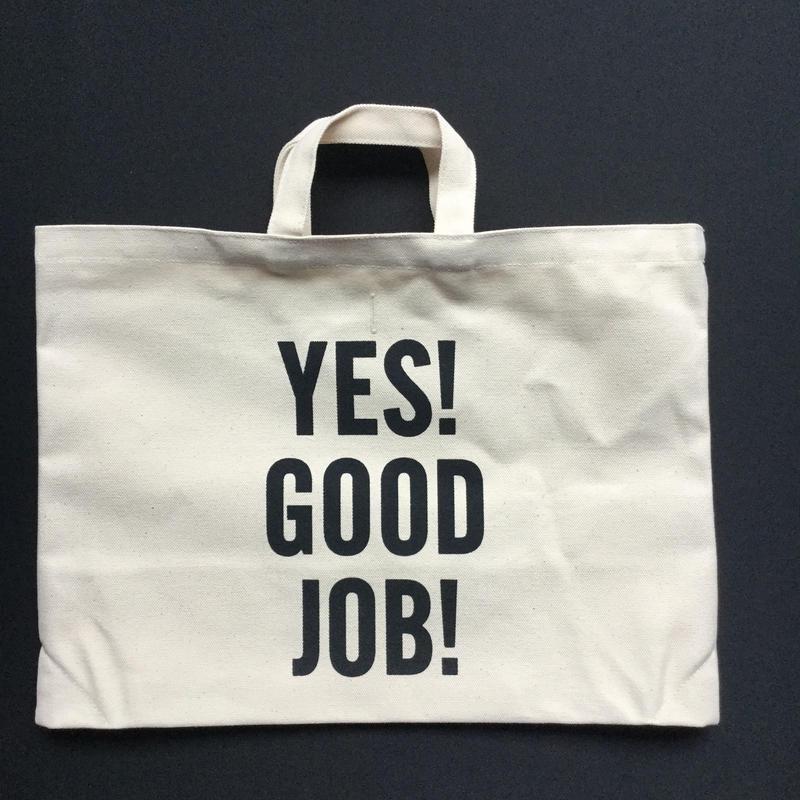"""⭕️[新発売]DRESSSENTOTE BAG  DTB3 """"YES! GOOD JOB!🔴再入荷しました。次回の入荷はございません。よろしくお願い申し上げます。"""