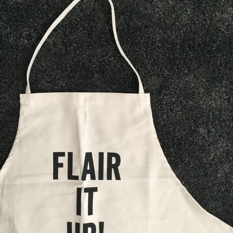 DRESSSEN #63 ADULT APRON  FLAIR IT UP   APRON