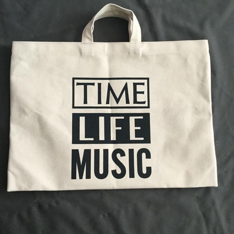 DRESSSEN DTB12  TOTE BAG DRESSSEN   TIME LIFE MUSIC※年内の入荷はございません。ご了承くださいませ。。よろしくお願い申し上げます。