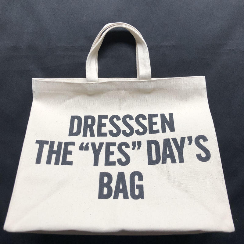 "🔴新発売  DRESSSEN  MARKET BAG (LARGE)  MBAL1   DRESSSEN  THE ""YES""DAY'S BAG"