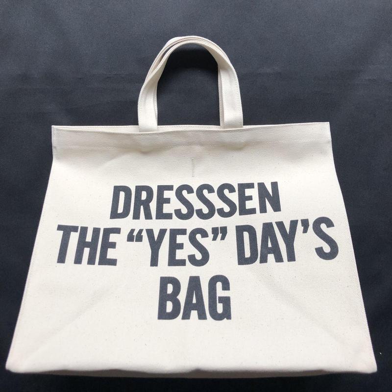 """🔴新発売  DRESSSEN  MARKET BAG (LARGE)  MBAL1   DRESSSEN  THE """"YES""""DAY'S BAG"""