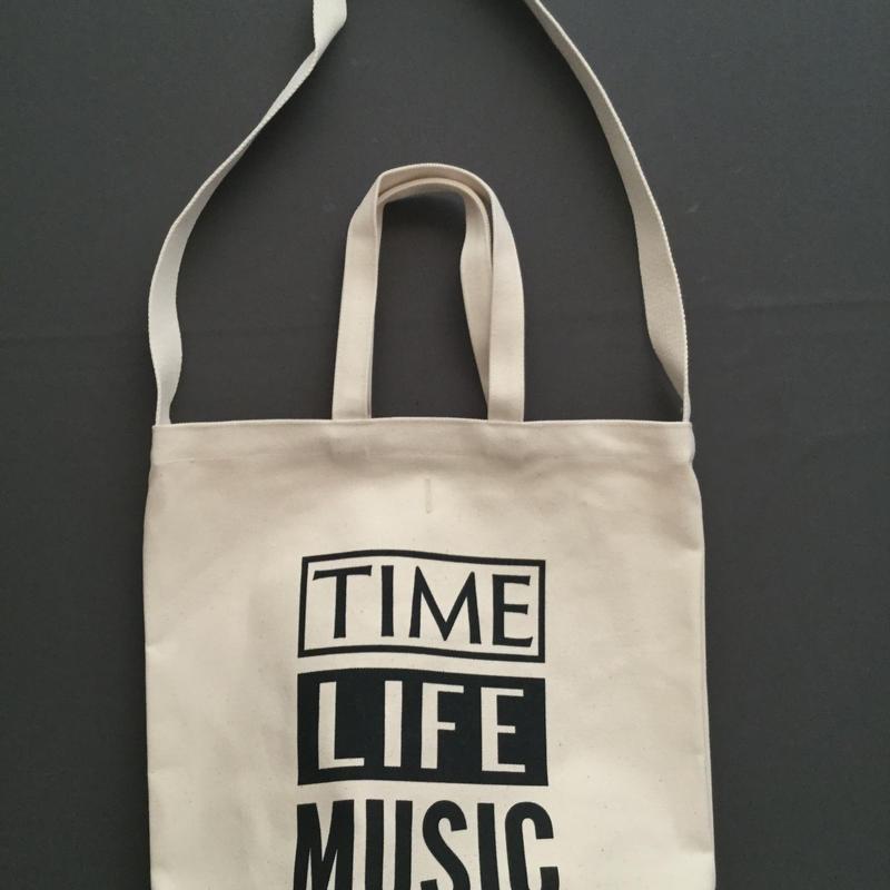 """DRESSSEN  DBSH1 TWO WAY BAG"""" TIME LIFE MUSIC""""⭕️一点入荷しました。よろしくお願い申し上げます。"""