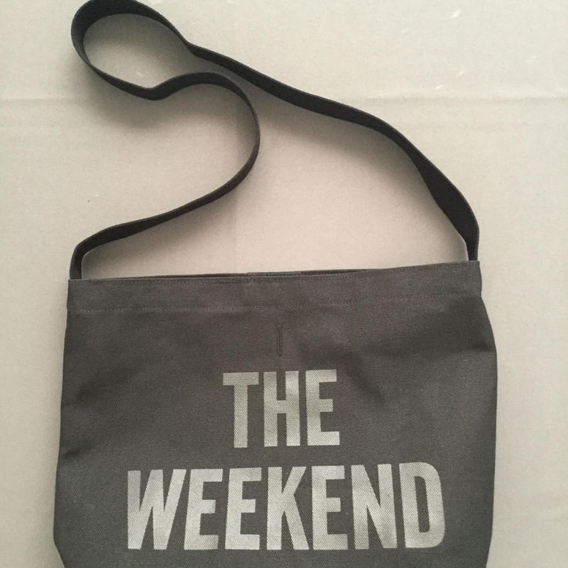 "DRESSSEN  SHOULDER BAG DBC3 "" THE WEEKEND""BLACK COLOR"