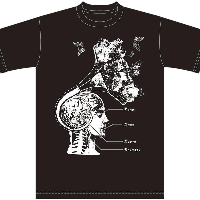 GYPSY SOUND SYSTEM ORKESTRA [2016 JAPAN TOUR] T-shirts