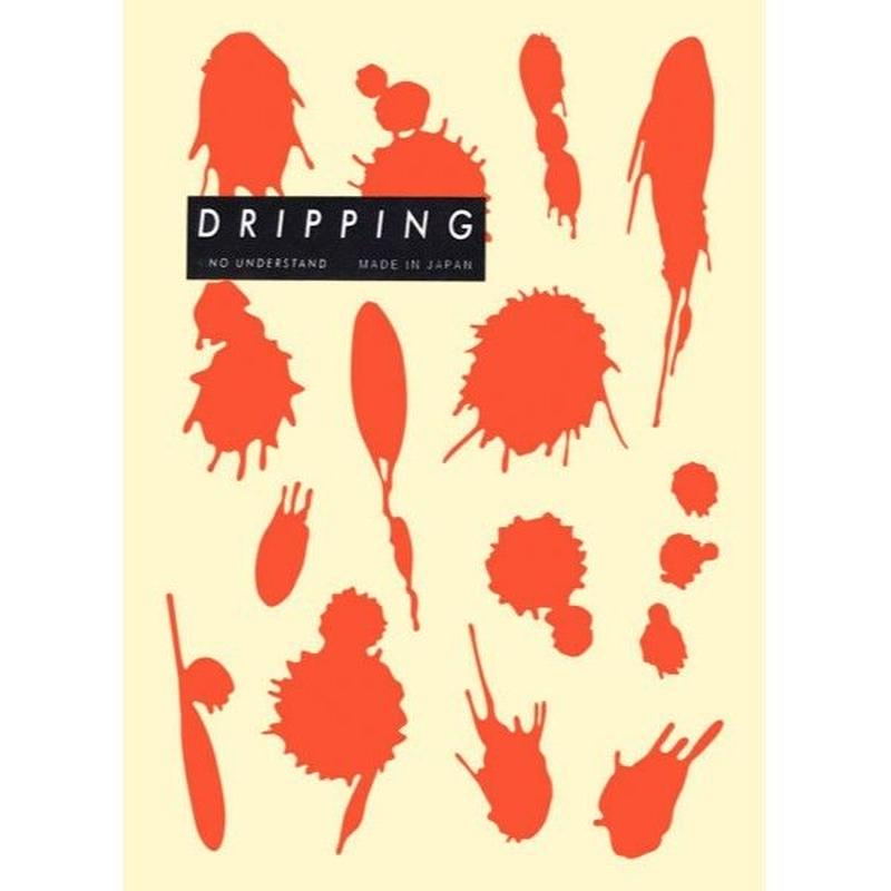 DRIPPING Sticker M(サニーオレンジ)