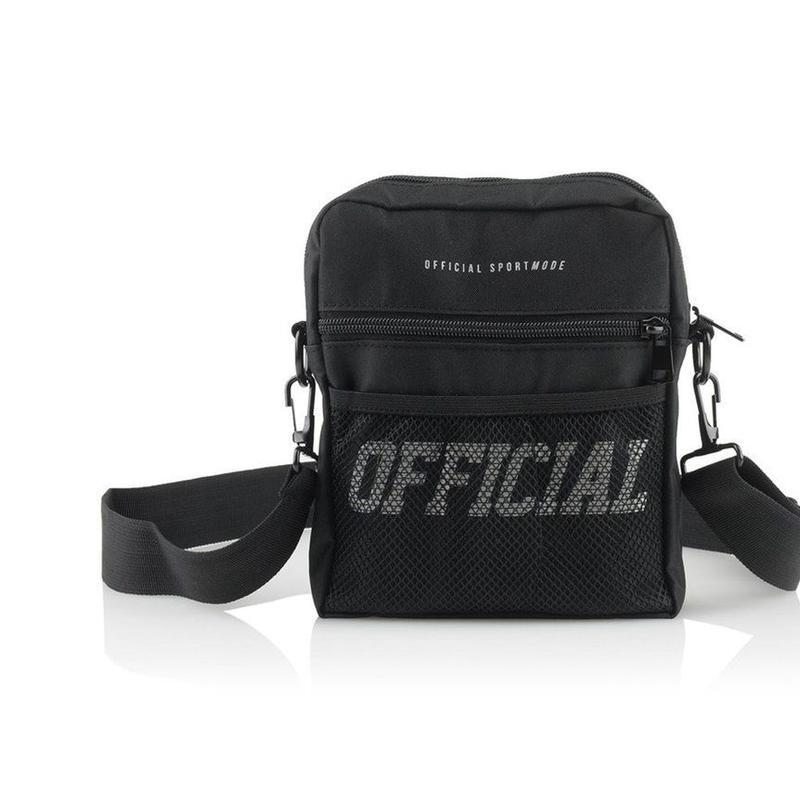 【OFFICIAL】MELROSE HIP UTILITY BAG BLACK
