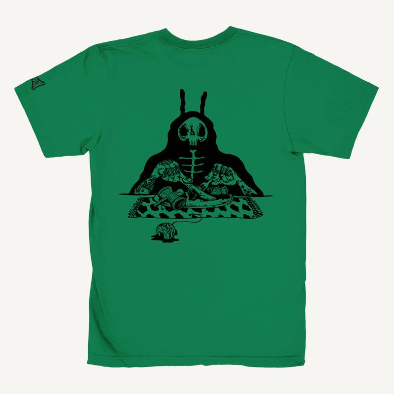 S.O.S. (Snack Of Skull) Tee -Green-