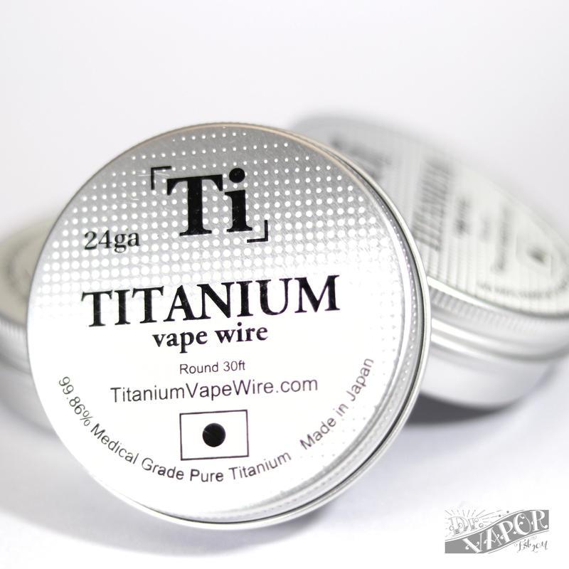 Titanium Vape Wire 28G-26G(Made in Japan)